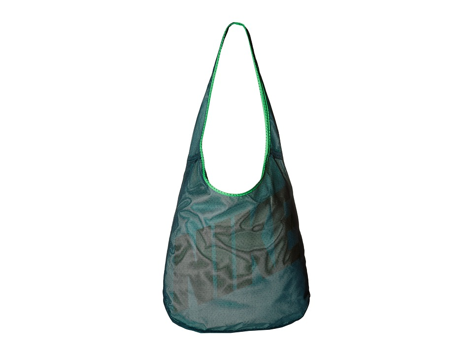 Nike - Graphic Reversible Tote (Midnight Turquoise/Green Spark/Rio Teal) Tote Handbags