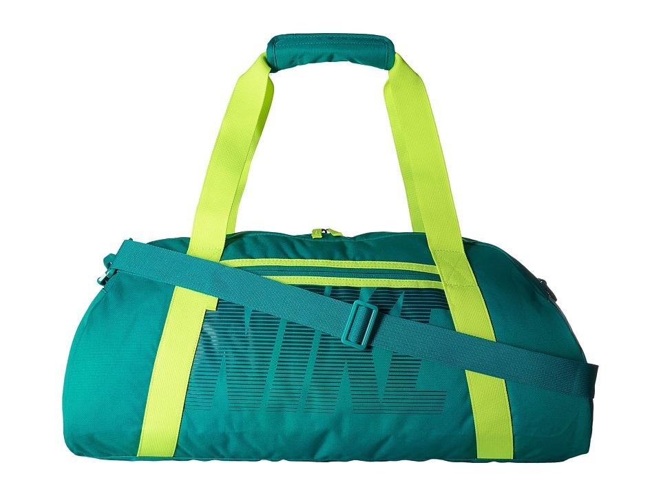 Nike - Gym Club (Rio Teal/Volt/Midnight Turquoise) Duffel Bags