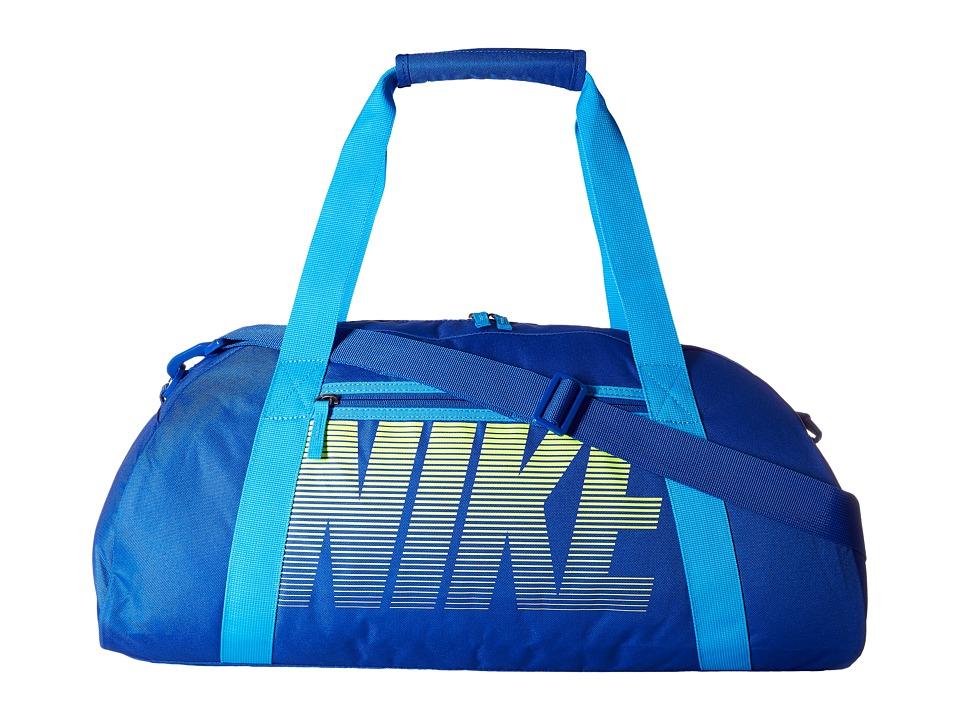 Nike - Gym Club (Game Royal/Blue Glow/Volt) Duffel Bags