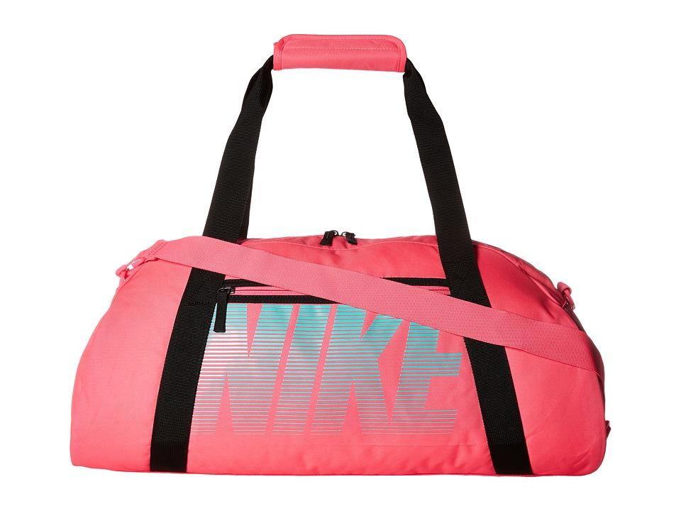 Nike - Gym Club (Hyper Pink/Black/Hyper Turquoise) Duffel Bags
