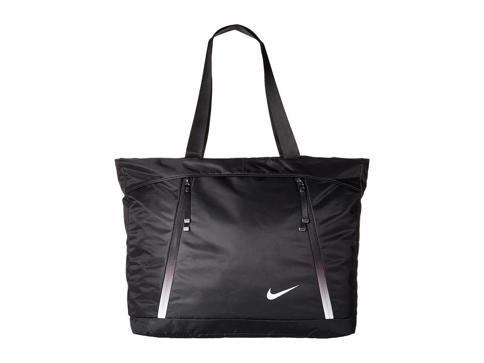Nike - Auralux Tote (Black/Black/White) Tote Handbags