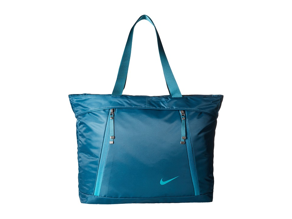Nike - Auralux Tote (Midnight Turquoise/Midnight Turquoise/Rio Teal) Tote Handbags