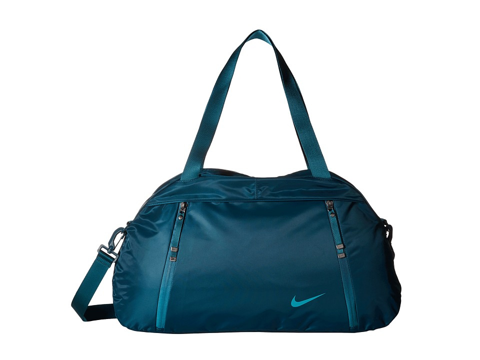 Nike - Auralux Club - Solid (Midnight Turquoise/Midnight Turquoise/Rio Teal) Duffel Bags