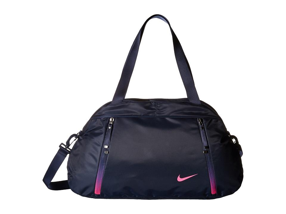 Nike - Auralux Club - Solid (Obsidian/Hyper Pink/Hyper Pink) Duffel Bags