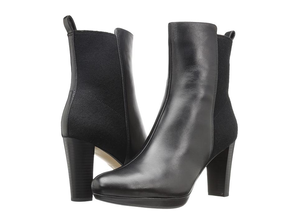 Clarks - Kendra Porter (Black Leather) Women