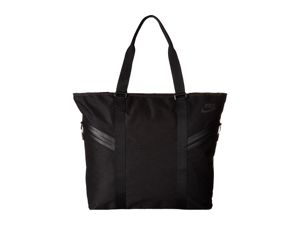 Nike - Azeda Tote Premium (Black/Black/Black) Tote Handbags