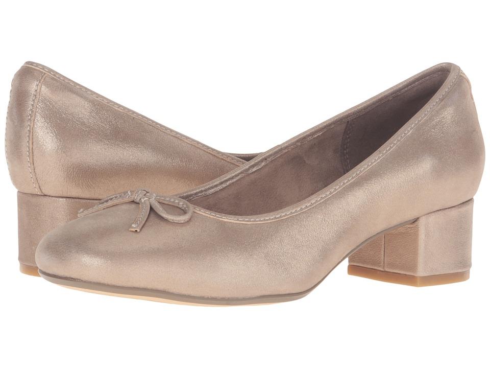 Clarks - Cala Lucky (Metallic Leather) Women