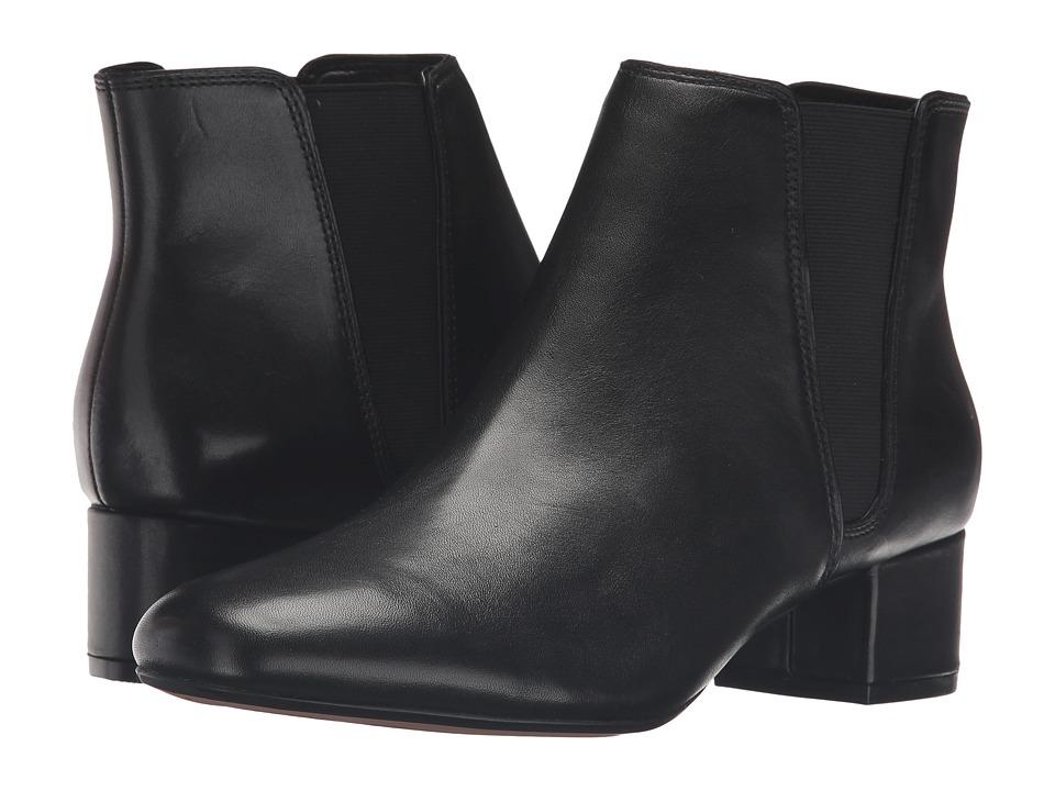 Clarks Cala Jean (Black Leather) Women