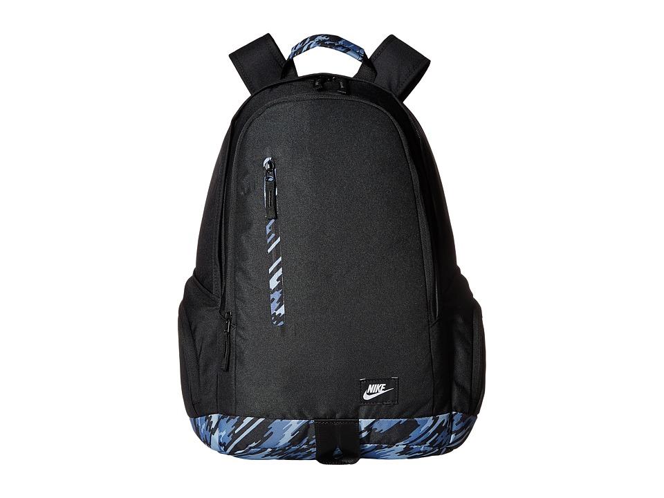 Nike - All Access Fullflare (Black/Black/White) Backpack Bags
