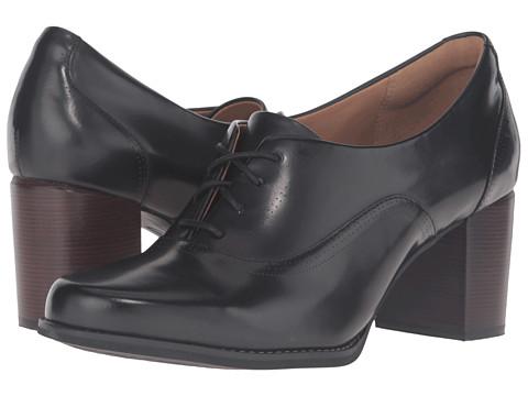 Clarks Tarah Victoria - Black Leather
