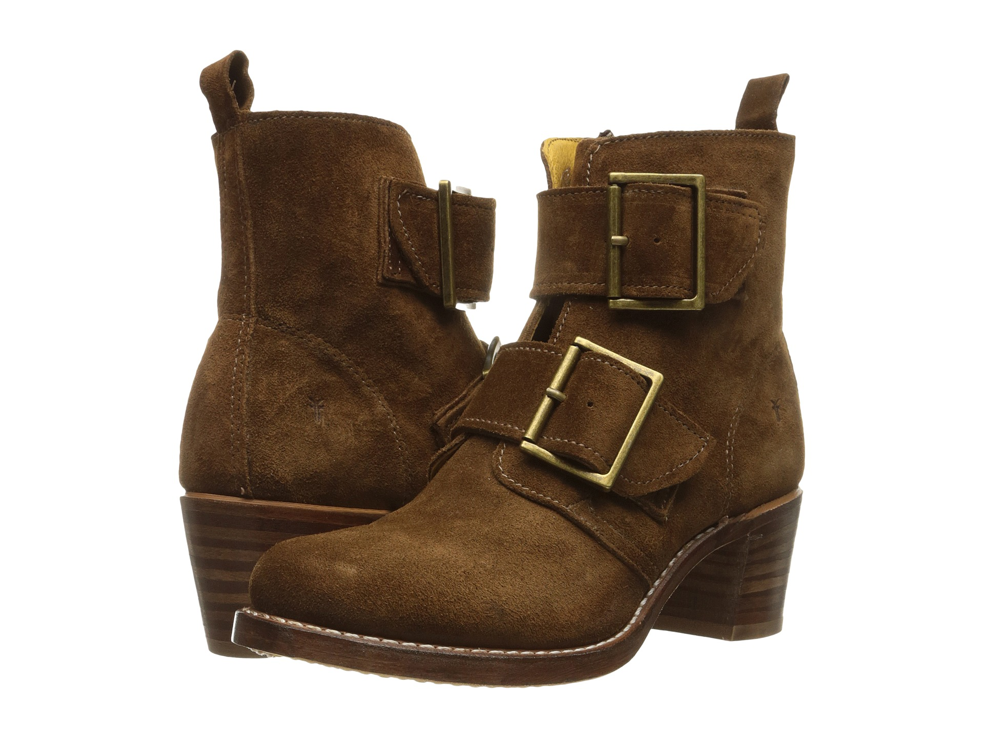 Frye Sabrina Double Buckle Zappos Com Free Shipping Both