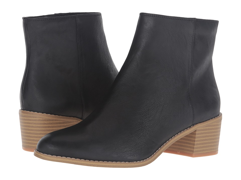 Clarks Breccan Myth (Black Leather) Women