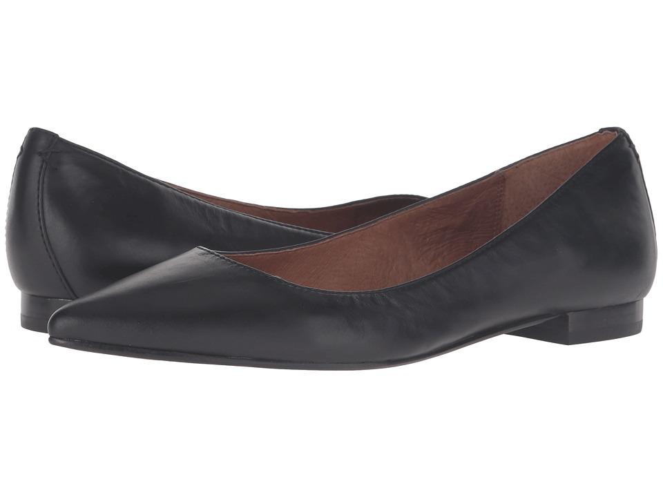 Frye Sienna Ballet (Black Soft Full Grain) Women