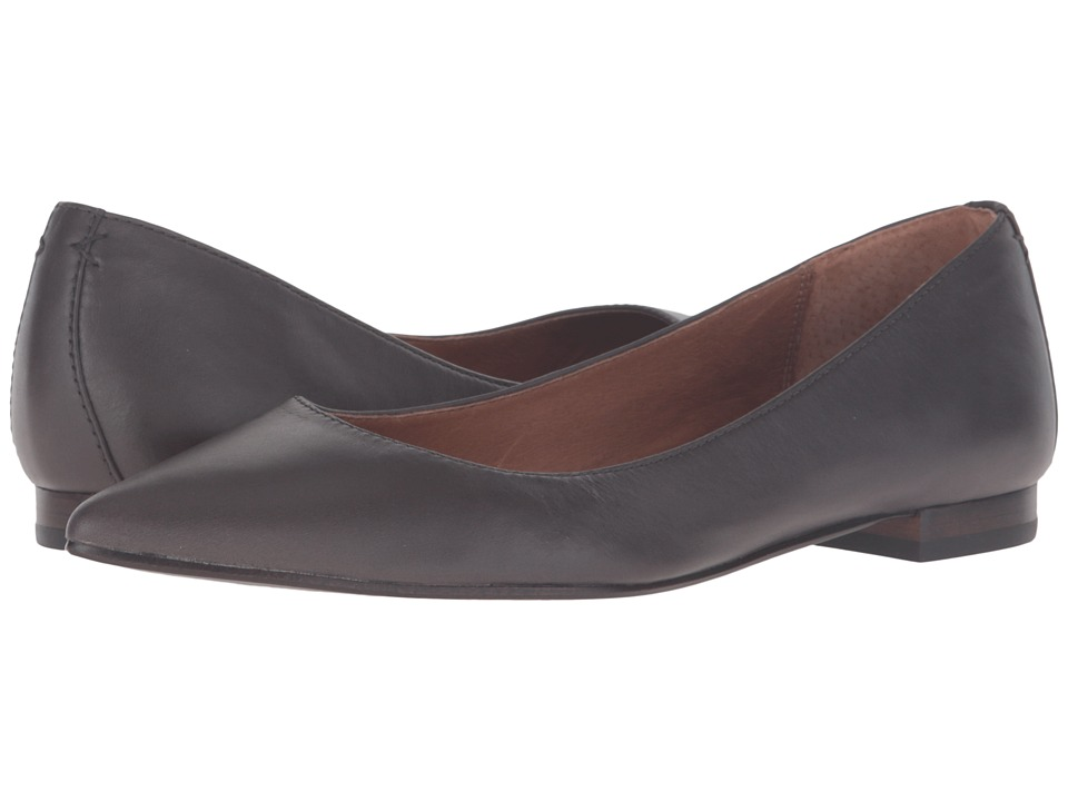 Frye - Sienna Ballet (Smoke Soft Full Grain) Womens Flat Shoes