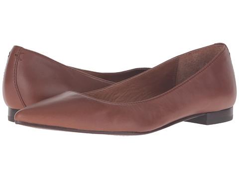 Frye Sienna Ballet - Wood Soft Full Grain
