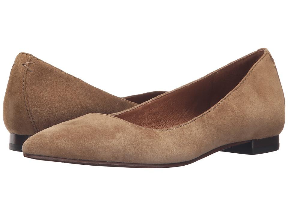Frye Sienna Ballet (Cashew Suede) Flats
