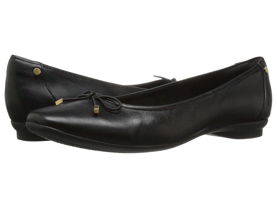 Clarks - Candra Light (Black Leather) Womens  Shoes