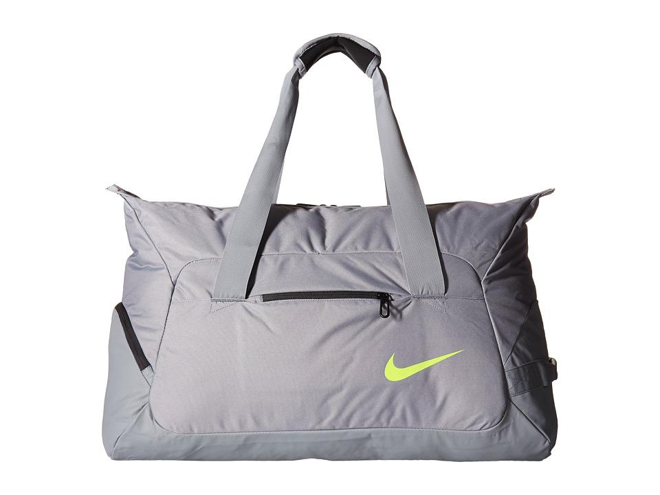Nike - Tennis Duffel (Stealth/Stealth/Volt) Duffel Bags