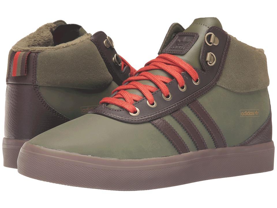 Image of adidas Skateboarding - Adi-Trek (Olive Cargo/Brown/Craft Chili) Men's Skate Shoes