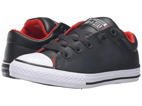 Converse Kids Chuck Taylor® All Star® High Street Leather (Little Kid/Big Kid)