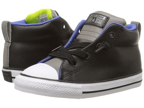 Converse Kids Chuck Taylor® All Star® Street Mid Leather (Infant/Toddler)