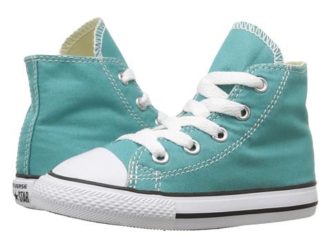 Converse Kids Chuck Taylor® All Star® Seasonal Hi (Infant/Toddler) - Aegean Aqua