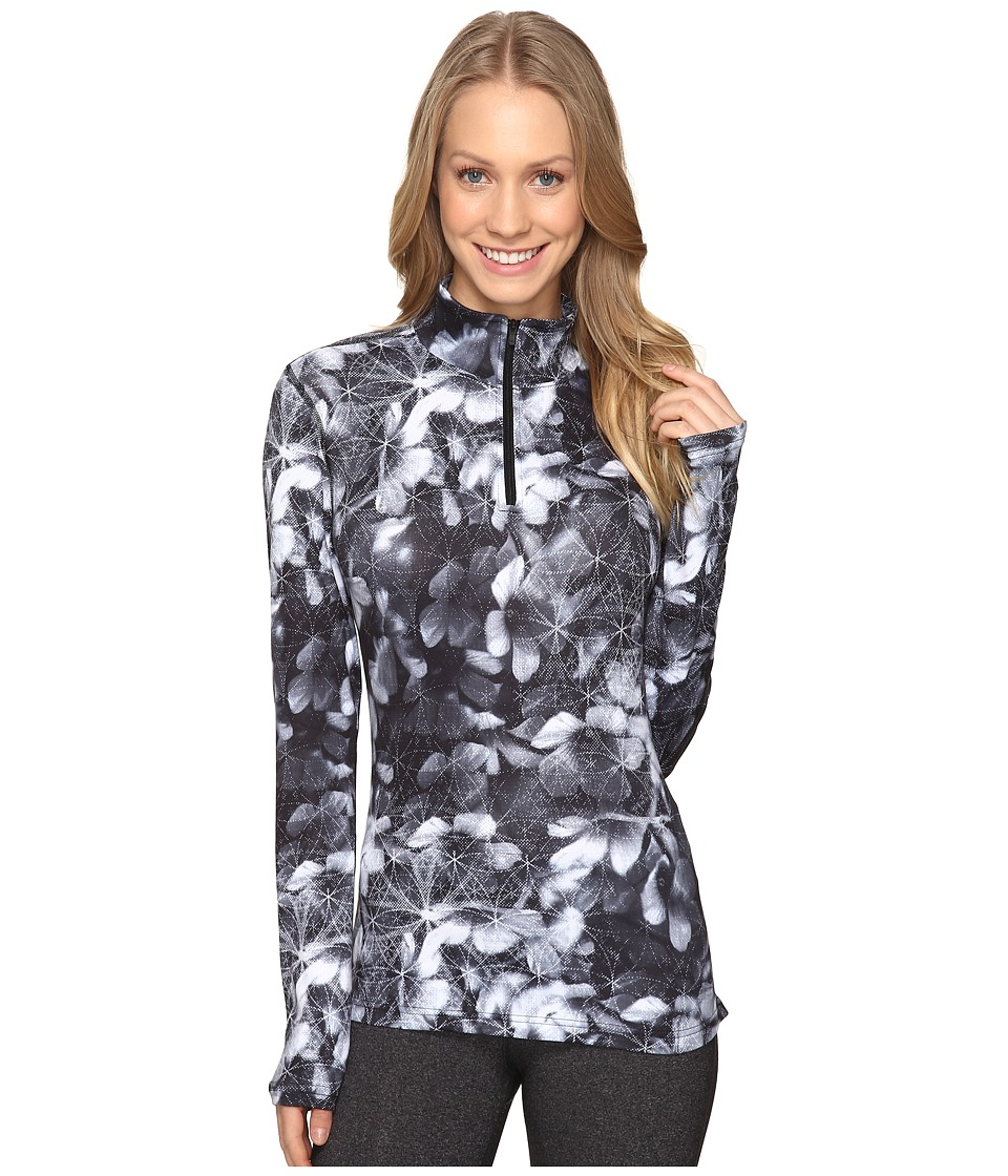 Obermeyer Sage Sport 75wt Zip Top (Blackout Floral) Women