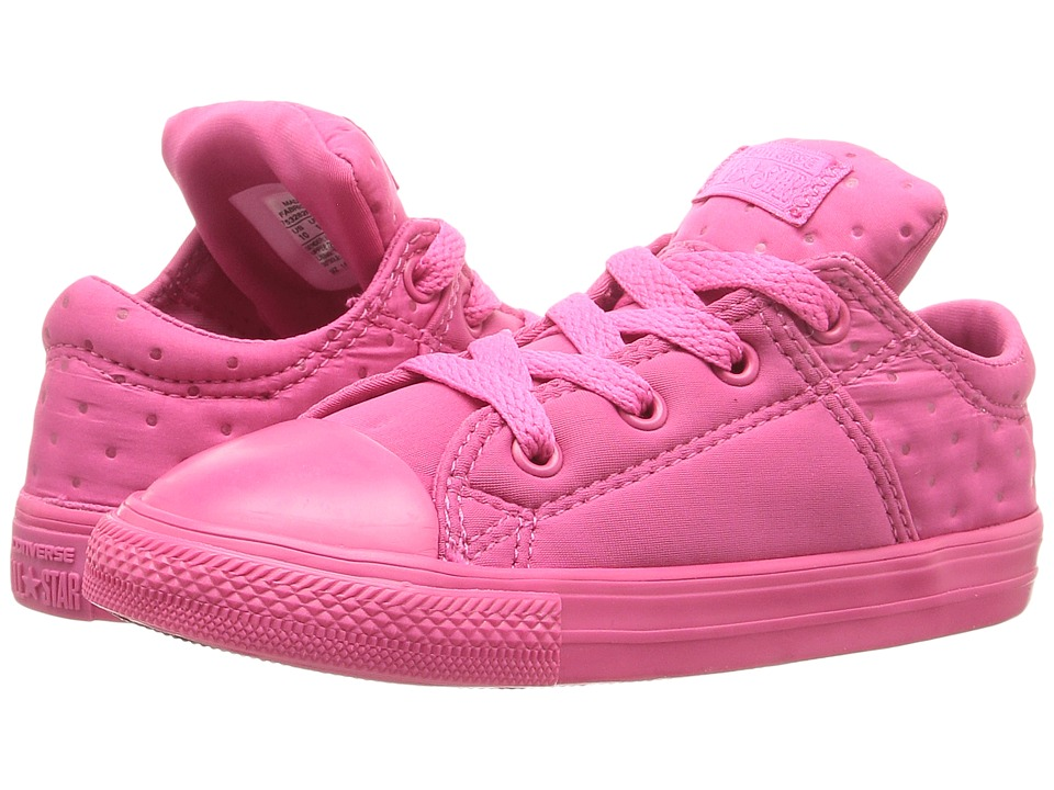 Converse Kids - Chuck Taylor All Star Madison Ox (Infant/Toddler) (Vivid Pink/Vivid Pink/Vivid Pink) Girl