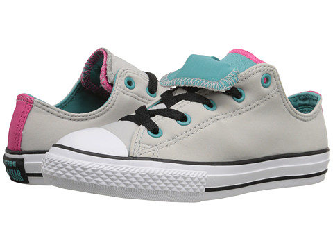 Converse Kids Chuck Taylor® All Star® Double Tongue (Little Kid/Big Kid)