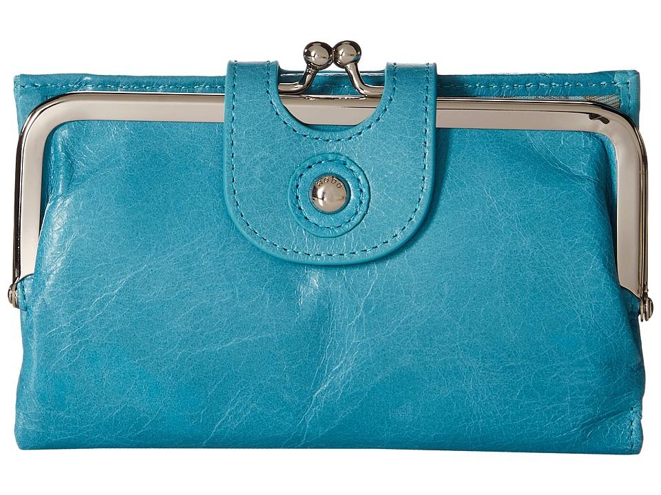 Hobo Alice Turquoise Wallet Handbags