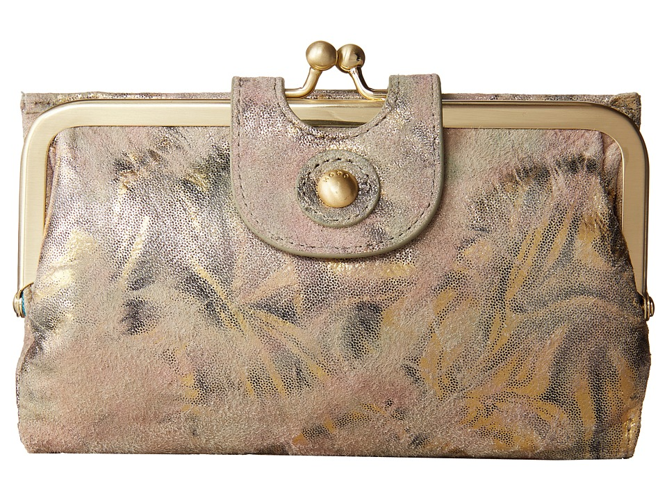 Hobo Alice Metallic Star Burst Wallet Handbags