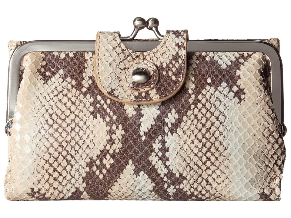 Hobo Alice Sand Snake Wallet Handbags