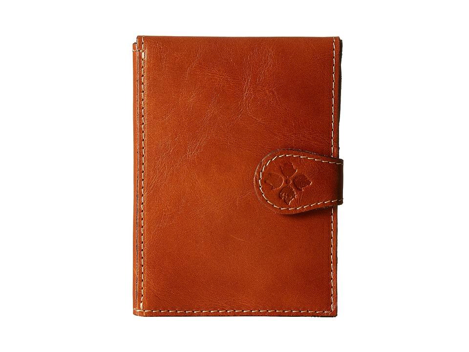 Patricia Nash - Passport Case (Tan) Wallet