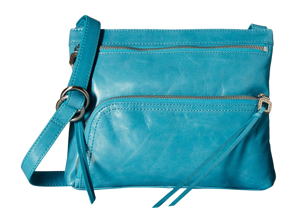 Hobo - Cassie (Turquoise) Cross Body Handbags