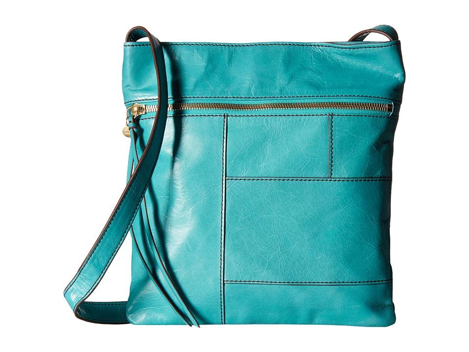 Hobo - Dalena (Turquoise) Cross Body Handbags
