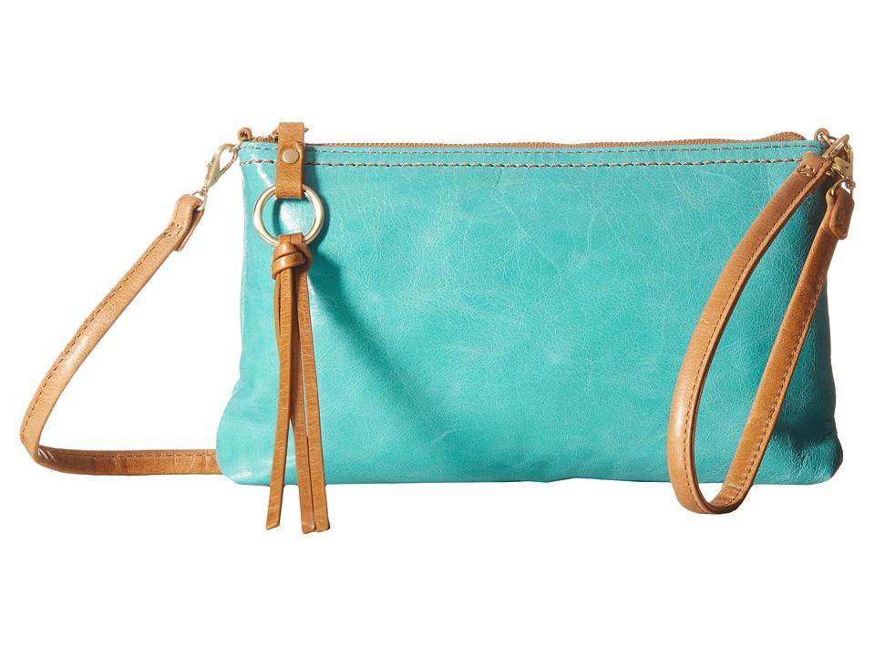 Hobo - Darcy (Turquoise) Cross Body Handbags
