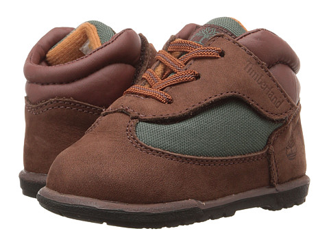 Timberland Kids Field Boot Crib Bootie (Infant/Toddler) - Dark Brown Nubuck