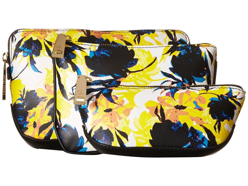 Ivanka Trump - Rio Nesting Cosmetic Cases (Moody Floral Moody Floral Non Leather) Cosmetic Case