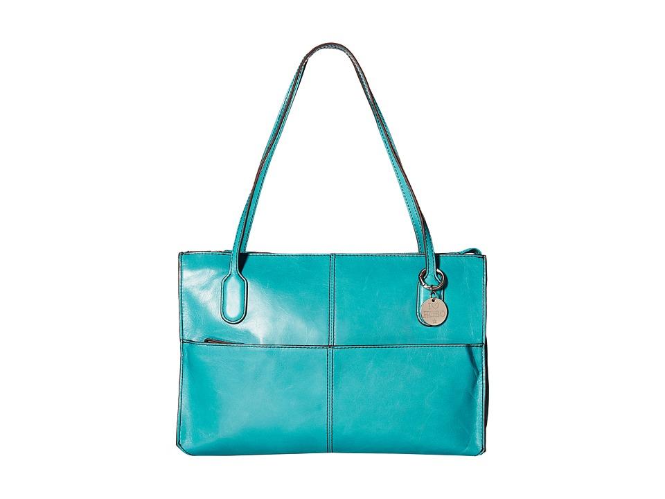 Hobo - Friar (Turquoise) Shoulder Handbags