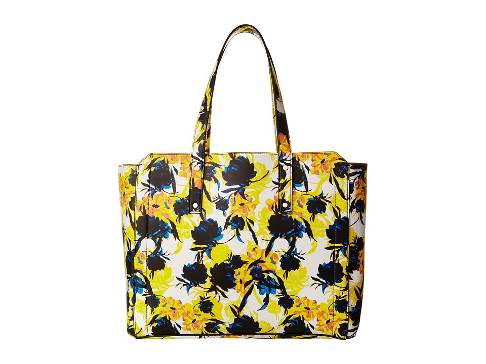 Ivanka Trump - Soho Organizational Work Tote (Moody Floral Moody Floral Non Leather) Tote Handbags