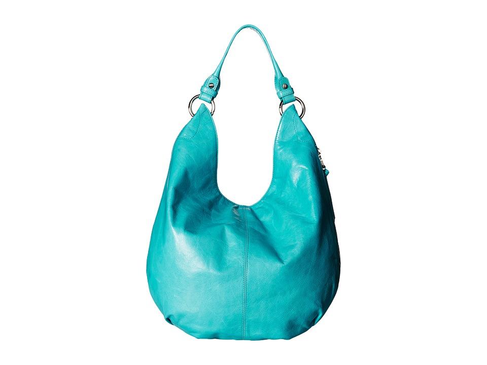 Hobo - Gardner (Turquoise) Hobo Handbags