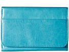 Hobo Jill Trifold Wallet (Turquoise)
