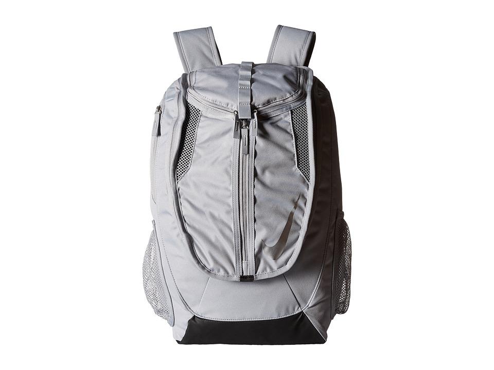 Nike - Football Shield Backpack (Wolf Grey/Black/Metallic Silver) Backpack Bags