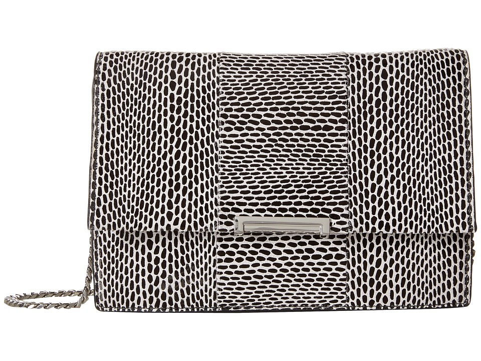 Ivanka Trump - Mara Cocktail Bag (Black Graphic Snake Leather) Bags