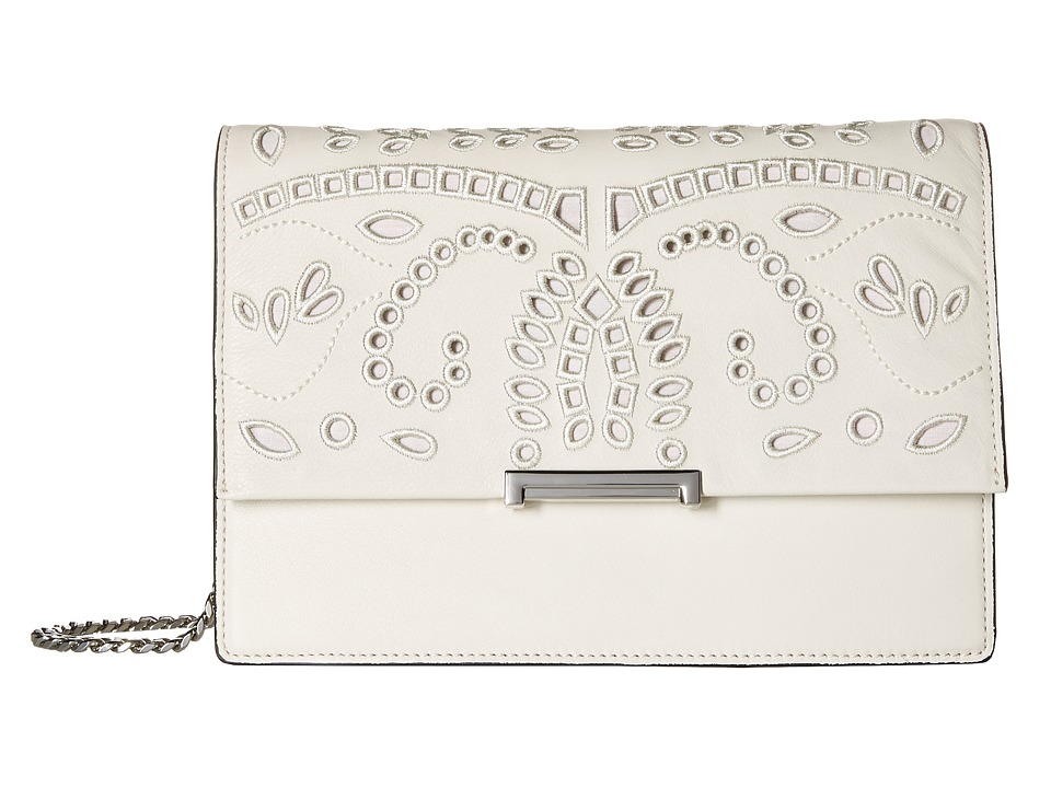 Ivanka Trump - Mara Cocktail Bag (Dove Eyelet Leather) Bags