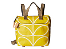 Orla Kiely Giant Linear Stem Small Backpack (Dandelion)