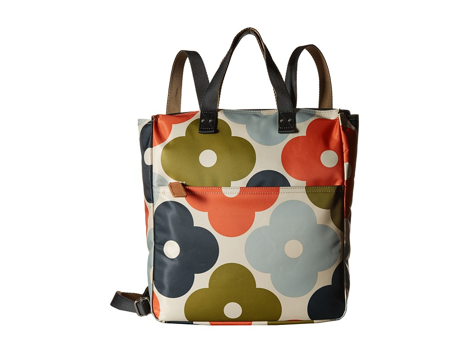 Orla Kiely - Giant Flower Spot Print Backpack (Multi) Backpack Bags