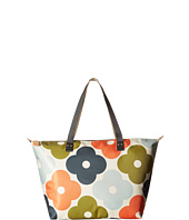 Orla Kiely - Giant Flower Spot Print Zip Shopper