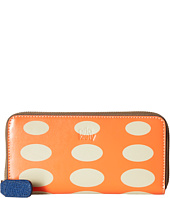 Orla Kiely - Oval Printed Big Zip Wallet