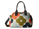 Orla Kiely Giant Flower Spot Print Zip Handbag (Multi)